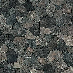 ◇東リ クッションフロアP 鉄平石 色 CF4154 サイズ 182cm巾×6m 【日本製】※他の商品と同梱不可