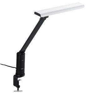 ◇TWINBIRD(ツインバード) LEDクランプ式デスクライト LE-H634W LE-H634W ホワイト※他の商品と同梱不可