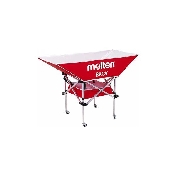 ◇molten(モルテン) 折りたたみ式平型軽量ボールカゴ(背低) BKCVLR※他の商品と同梱不可