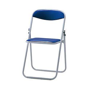 ◇サンケイ 折りたたみ椅子 ブルー 1セット(6脚) 型番:CF104-MX-BL※他の商品と同梱不可