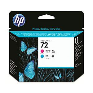 ◇【純正品】 HP インクカートリッジ プリントヘッド マゼンタ/シアン 型番:C9383A(HP72) 単位:1個※他の商品と同梱不可