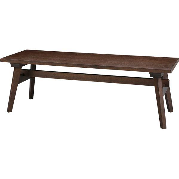◇ローベンチ モティ 木製 高さ36cm RTO-746BBR ブラウン※他の商品と同梱不可