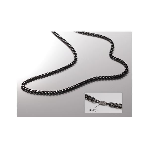 ◇Phiten(ファイテン) 炭化チタンチェーンネックレス 65CM TC00※他の商品と同梱不可