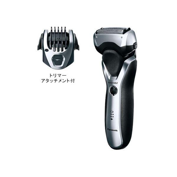◇Panasonic(パナソニック) メンズシェーバー 3枚刃 (シルバー調) ES-RT46-S※他の商品と同梱不可