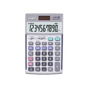 ◇カシオ CASIO 本格実務電卓 10桁 ジャストサイズ JS-10WK 1台※他の商品と同梱不可