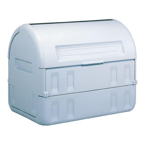 ◇三甲(サンコー) サンクリーンボックス/大型蓋付きゴミ箱 【800L】 #800 グレー(灰) 【代引不可】※他の商品と同梱不可