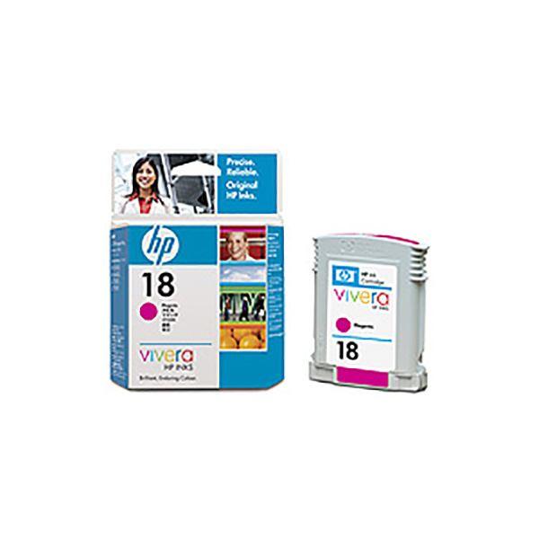 ◇(業務用5セット) 【純正品】 HP インクカートリッジ 【C4938A HP18 M マゼンタ】※他の商品と同梱不可