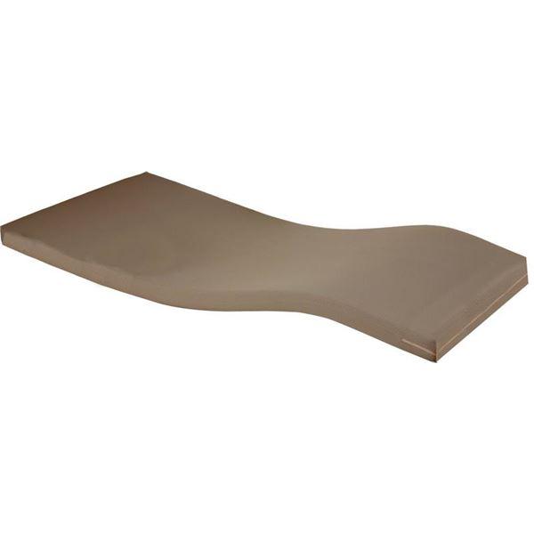 ◇Tケアベッド用マットレス 幅90cm×全長196cm×高さ8.5cm 抗菌 (ベッド用品/介護用品)※他の商品と同梱不可
