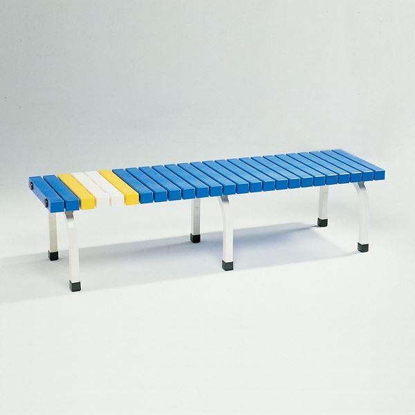 ◇ベンチ BC-302-015(青) 【代引不可】※他の商品と同梱不可