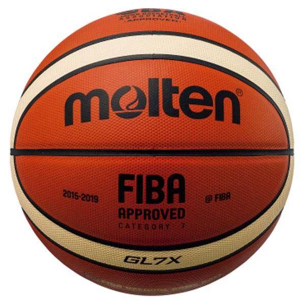 ◇モルテン(Molten) バスケットボール7号球 GL7X 国際公認球・JBA検定球 BGL7X※他の商品と同梱不可