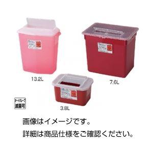 ◇(まとめ)シャープスコンテナー 3.8L 赤【×30セット】※他の商品と同梱不可
