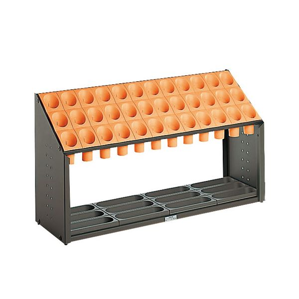 ◇テラモト 傘立 UB-285-136-7 オレンジ※他の商品と同梱不可