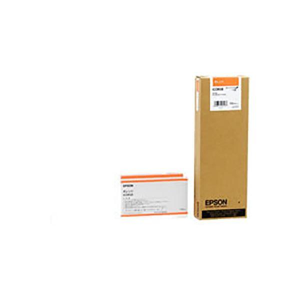 ◇(業務用3セット) 【純正品】 EPSON エプソン インクカートリッジ 【ICOR58 オレンジ】※他の商品と同梱不可