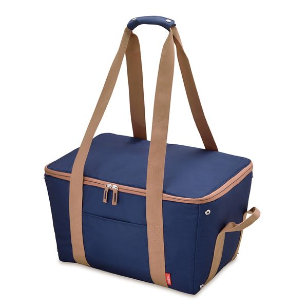 ◇ 保冷 レジカゴバッグ  25L 折りたたみ 手くるみ・底板付き※他の商品と同梱不可
