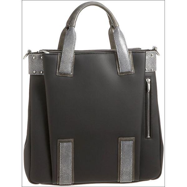 ◇Colore Borsa(コローレボルサ) ビジネストートバッグ ブラック SC-001-zip-N※他の商品と同梱不可