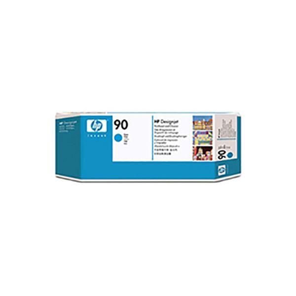 ◇【純正品】 HP プリントヘッド/クリーナー 【C5055A HP90 C シアン】 インクカートリッジ トナーカートリッジ※他の商品と同梱不可