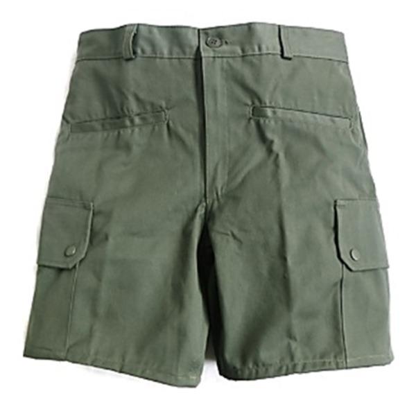 ◇フランス軍放AIR FORCEフィールドショーツパンツ未使用デットストック オリーブ 76cm※他の商品と同梱不可