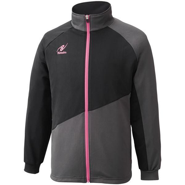 ◇ニッタク(Nittaku)卓球アパレル TRAINING SL SHIRT(トレーニングSLシャツ)男女兼用 NW2854 ピンク O※他の商品と同梱不可