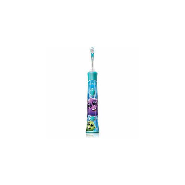 ◇PHILIPS ソニッケアーキッズ 充電式電動歯ブラシ HX6321/03※他の商品と同梱不可