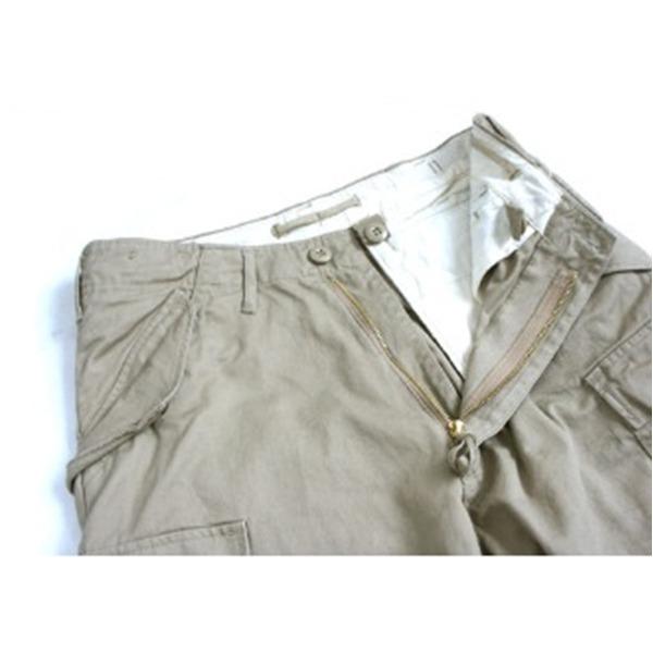 ◇USタイプ「 M-65」フィールド七分丈パンツ カーキ メンズ Sサイズ  ※他の商品と同梱不可