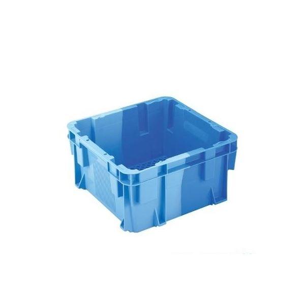 ◇【5個セット】 業務用コンテナボックス/食品用コンテナー 【NF-M19E】 ダークブルー/ブルー 材質:PP【代引不可】※他の商品と同梱不可