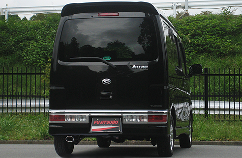 FUJITSUBO フジツボ マフラー AUTHORIZE K アトレーワゴン カスタム ターボ 2WD S321G 750-70631 【NFR店】