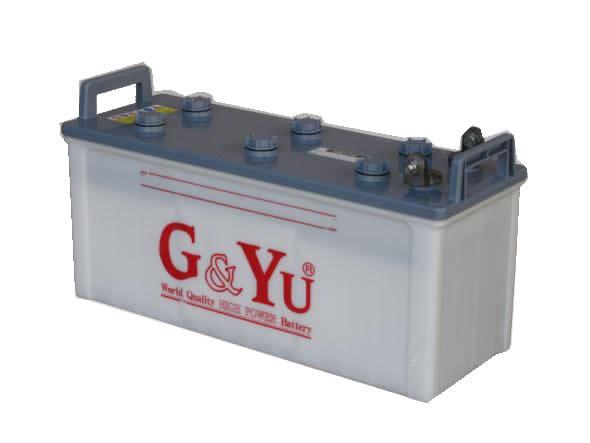 <代引不可/個人宅配送不可>G&YU ジーアンドユー バッテリー 電動車両・EV EB130G テーパー端子 【NFR店】