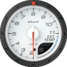 Defi デフィ アドバンス 排気温計(シロ) ADVANCE CR60MM DF09301 【NF店】
