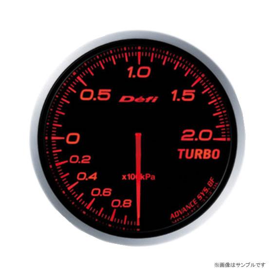 Defi デフィ ADVANCE BF ターボ計 200kpa アンバーレッド DF09902 【NF店】