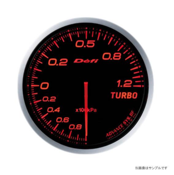 Defi デフィ ADVANCE BF ターボ計 120kpa アンバーレッド DF10002 【NF店】