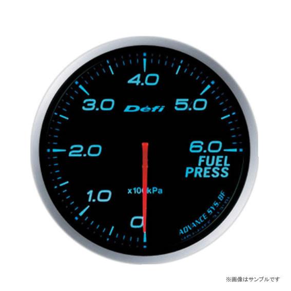 Defi デフィ ADVANCE BF 燃圧計 ブルー DF10303 【NF店】