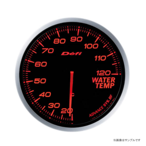 Defi デフィ ADVANCE BF 水温計 アンバーレッド DF10502 【NF店】