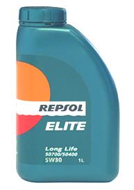 REPSOL(レプソル) エンジンオイル ELITE LongLife(エリート・ロングライフ) 5W-30 1リットルボトル 【12本1ケース】 フォルクスワーゲン最新規格 507.00/504 00 取得品 [007039] 【NF店】
