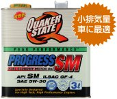 QuakerState クエーカーステート プログレス5W30 3L 6缶