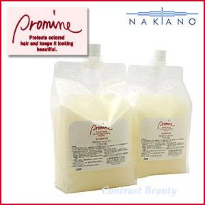 【150円クーポン】【送料無料】【x2個セット】ナカノ プロマイン シャンプー 3000ml(1500ml×2)レフィル 《shampoo》