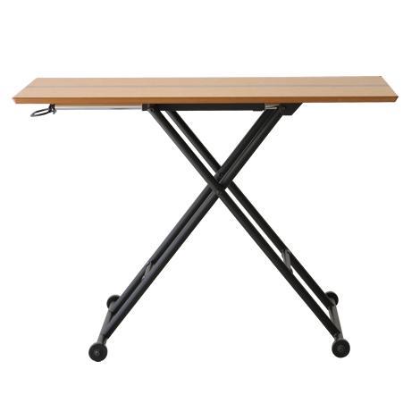 【期間限定クーポン配布中】リフティングテーブル/リフティングテーブル 昇降式テーブル 木製テーブル テーブル 机 木製リビングテーブル ダイニングテーブル 作業台 作業テーブル リビングテーブル