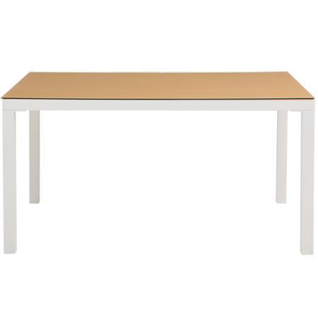 【期間限定クーポン配布中】[幅135cm]テーブル/食卓机にぴったりのおしゃれでシンプルな長方形テーブル 飛散防止 生活用品 インテリア 雑貨 インテリア 家具 テーブル ダイニングテーブル