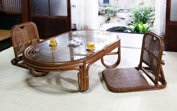 Co Chi Legless Chair Furniture Rattan Furniture Interior Chair