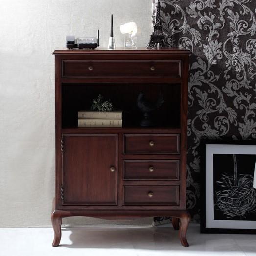 ファックス台/アンティーク調家具 ヴィンテージ 古き良き時代 アンティークデザイン エレガント こだわり おしゃれな猫脚 ラグジュアリー 高級感ゆったり空間 贅沢 ファックス台 棚