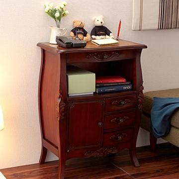 ファックス台/アンティーク調家具 ヴィンテージ 古き良き時代 アンティークデザイン エレガント こだわり おしゃれな猫脚 ラグジュアリー 高級感ゆったり空間 贅沢 ファックス台