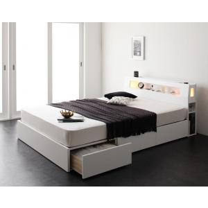 【ダブル】プレミアムボンネルコイルマットレス付きベッド/ベッド マットレス付き マットレス付きベッド マット付き マット付きベッド マットレス
