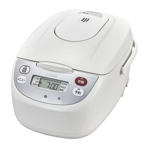 タイガー TIGER マイコン炊飯器 炊きたて 5.5合炊き JBH-G102 JBHG102家電 調理 炊飯器 ホワイト