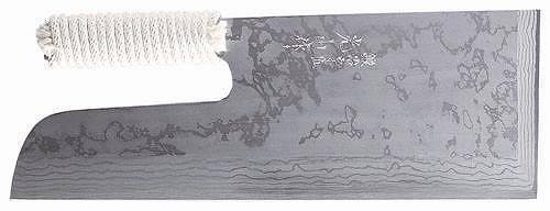 【送料無料】豊稔企販/豊稔 鍛冶宗匠光山作 積層別麺切庖丁 300mm A-1020