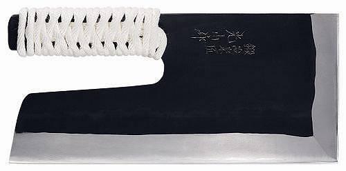 【送料無料】豊稔企販/豊稔 鍛冶宗匠光山作 安来鋼青紙黒打麺切庖丁 300mm A-1165