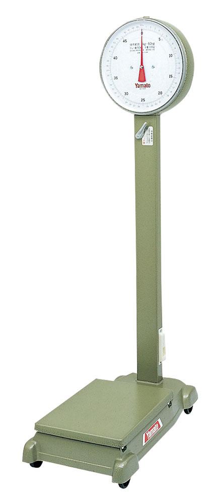大和製衡/YAMATO 自動台はかり中型 車付 検定品 50kg D-50MZ【送料無料(沖縄県除く)】