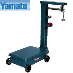 大和製衡/YAMATO 台はかり 車付(休みなし) 検定品 250kg BT-250【送料無料(沖縄県除く)】