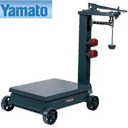 大和製衡/YAMATO 台はかり 車付 検定品 1t BT-1【送料無料(沖縄県除く)】