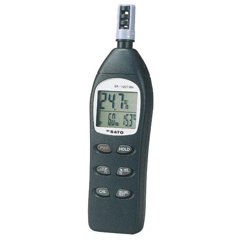 佐藤計量器/SATO デジタル温湿度計 SK-120TRH【送料無料(沖縄県除く)】