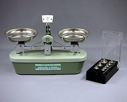 上皿天秤(分銅付)MS型 検定品 2kg MS-2 村上衡器