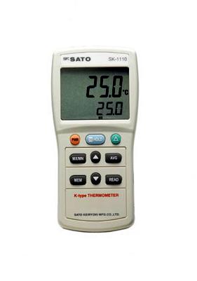 佐藤計量器/SATO 大型液晶デジタル温度計 SK-1120 2チャンネルタイプ (指示計のみ)【送料無料(沖縄県除く)】